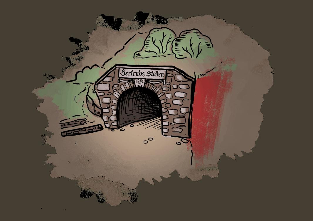 Wejście do Sztolni Gerturda