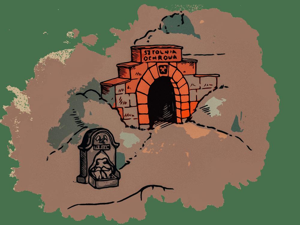 Sztolnia Ochrowa - brama wejściowa do sztolni
